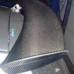 carbon rear spoiler body prods