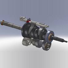 Re Engineered Classic Car Gearbox