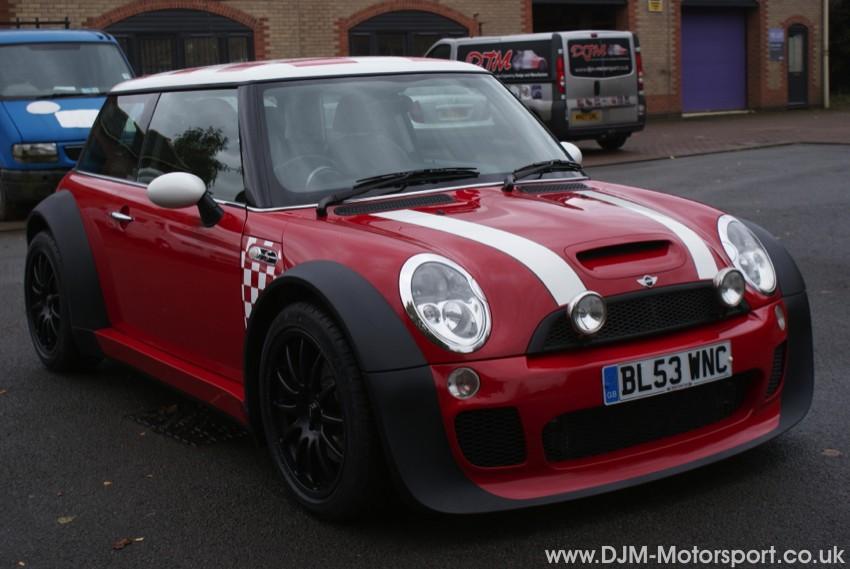Cost To Paint A Car >> DJM Motorsport ||Mini Worx Long wheelbae, wide arch mini Cooper S