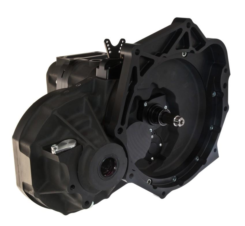 djm motorsport transverse mounted front rear engine  speed sequential